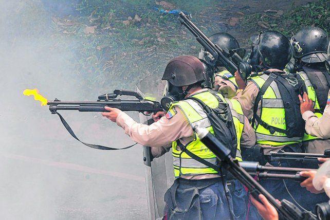 Represión. Luego de 40 días de protestas