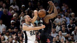 El mundo a los pies de Manu Ginóbili que en la última tapada consiguió el triunfo de los Spurs