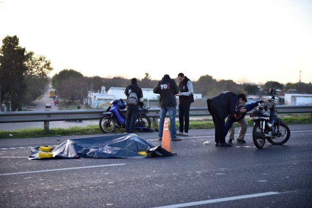 La terrible escena sobre Circunvalación tras el accidente de esta mañana