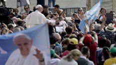 el papa francisco sorprendio hoy con un mensaje especial dirigido a los argentinos