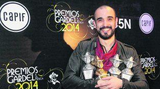 Va por más. Abel Pintos consiguió siete nominaciones para la ceremonia que será el 6 de junio en el Gran Rex.
