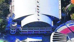 Sede mundial. El estadio cubierto de Newells.