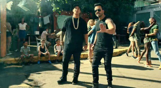 Daddy Yankee y Luis Fonzi en Despacito.