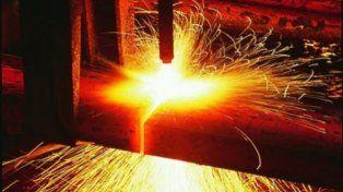 Acero. Un sector de la siderurgia comenzó a mostrar signos positivos.