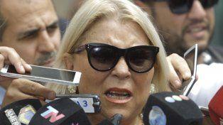 Carrió reivindicó el derecho a la verdad de los familiares de las víctimas de la guerrilla.