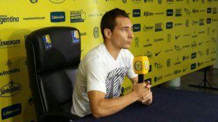 Marco Ruben regresará al primer equipo canalla para el clásico frente a Newells.