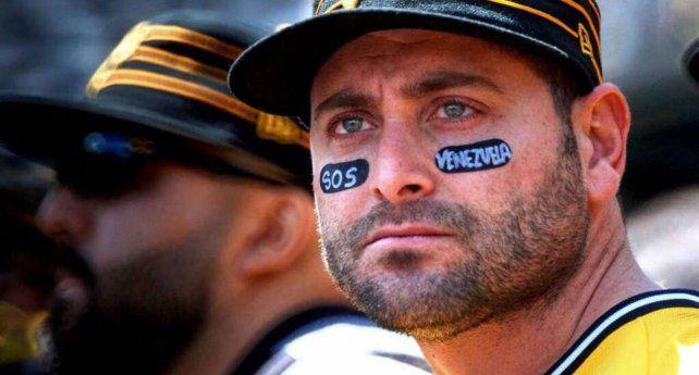 Pronunciamiento. El beisbolista Francisco Cervelli grabó un video pidiendo el cese de la represión.