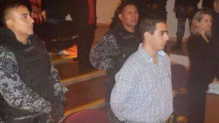 Javier Hernán Pino escucha la sentencia del tribunal salteño. Ahora lo espera la Justicia de Rosario.