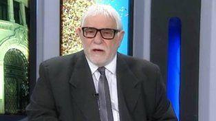El recordado periodista José Cazorla.