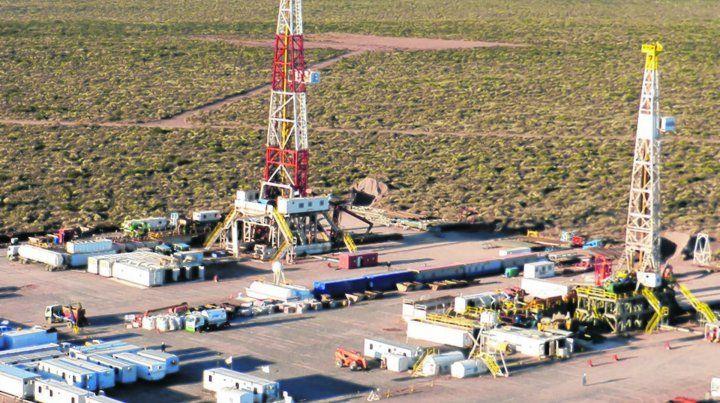 En auge. Vaca Muerta y su potencial gasífero no convencional es casi la única zona que registra fuertes inversiones.