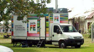 Camión móvil de última generación para el monitoreo de las alternativas del derby.