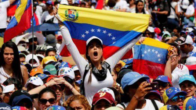 Las mujeres venezolanas, en la calle contra Maduro