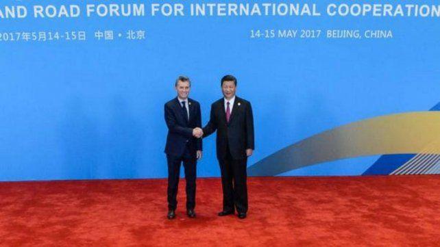 Macri destacó en China que Argentina es un gran productor de alimentos