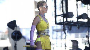 Estrella comprometida. Katy Perry adelantó que uno de sus nuevos temas hablará de su apoyo a Hillary Clinton.