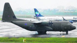 avión inglés. En 2017 hubo dos vuelos a Porto Alegre y dos a San Pablo.