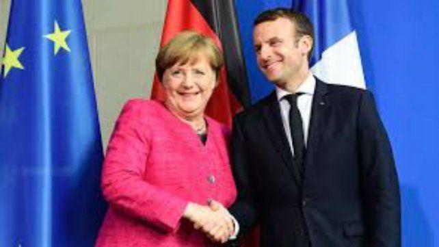 Merkel y Macron arman una agenda de reformas para Europa