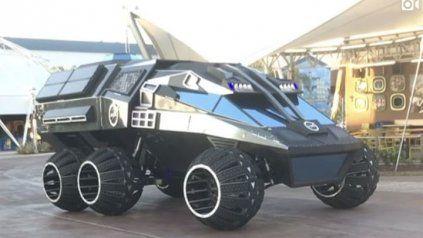 Un futurista vehículo explorará Marte