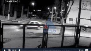 Difunden un video que permite identificar al asesino del almacenero de barrio Cristalería