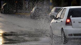 Informe especial por lluvias abundantes y vientos intensos para Rosario y la zona