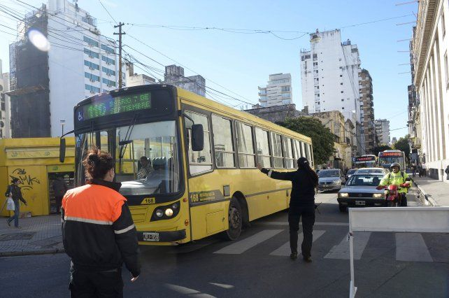 Los autos particulares no podrán transitar con normalidad por el centro de la ciudad