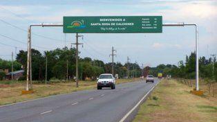 Santa Rosa de Calchines se encuentra en el departamento Garay.