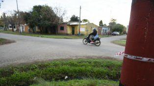 La esquina de barrio Tío Rolo donde ocurrió la fatal pelea.