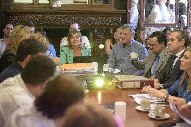 Irizar preside la comisión de Presupuesto en el Concejo