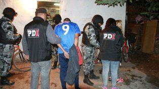 Los detenidos fueron trasladados por la PDI.