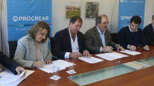 Hoy se firmó el contrato en Buenos Aires.