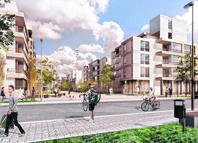 modificación. El plan contempla la apertura de varias calles y el derrumbe de murallones.
