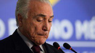 El escándalo provoca la peor crisis desde el inicio de la gestión de Michel Temer.