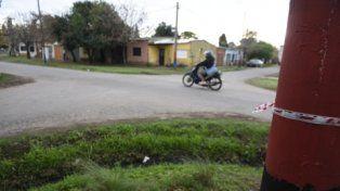 esquina. El cruce de Caminito y Calle 2106