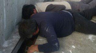 dique. El presidente comunal de Aarón Castellanos rompió las soldaduras.