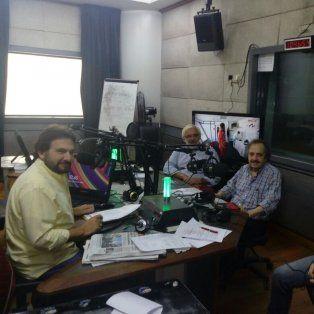 El domingo pasado Lotuf entrevistó a Ricardo Alfonsín en el programa Dicen que dicen.