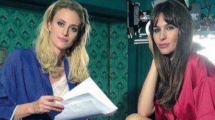 Las protagonistas del film erótico que saldrá a la luz en septiembre de este año.