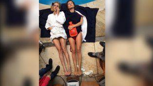 Las imágenes que se filtraron en las redes del film que protagoniza Pampita.