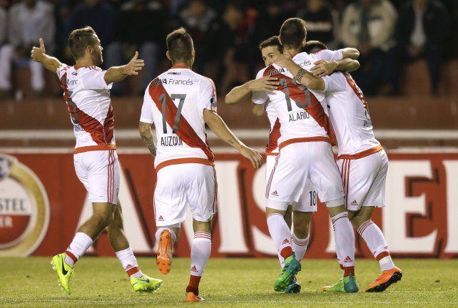 River le ganó a Melgar por 3 a 2 en Perú y se aseguró el primer puesto del grupo