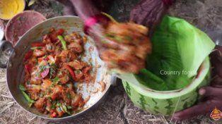 Una cocinera india de106 años, con su receta de pollo a la sandia es la nueva estrella de Youtube