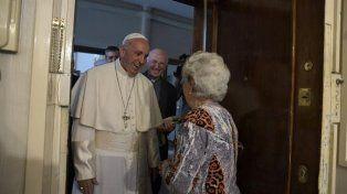 El Papa Francisco sorprendió con un inesperado timbreo en las afueras de Roma