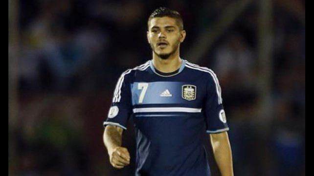 Mauro Icardi fue citado a la selección argentina por Sampaoli, que dejó afuera al Kun Agüero