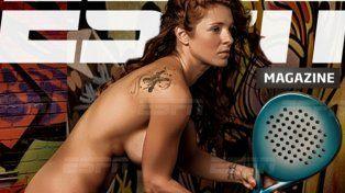 La argentina Paz es considerada la jugadora de pádel más sexy del mundo.