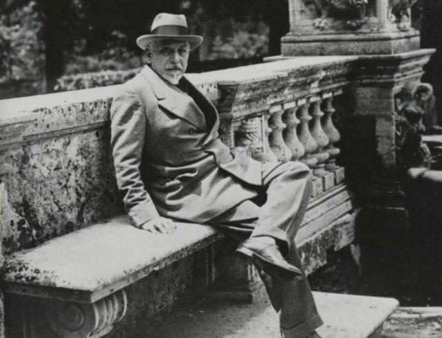 El escritor italiano