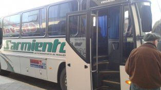 El abuso ocurrió en un ómnibus de la empresa interurbana Sarmiento de Córdoba.
