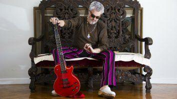 De zapada. ¡Acá hay free jazz y locura!, dice Pettinato sobre su nueva aventura musical.
