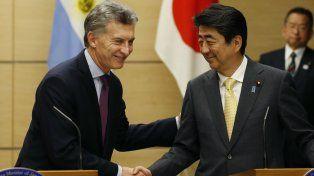 Macri y Abe firmaron un memorándum de cooperación.