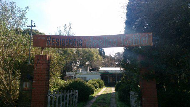 La institución. Los reubicados residentes podrán regresar al geriátrico cuando finalicen las obras.