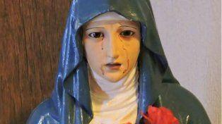 Afirman que la Virgen de los Dolores lloró sangre en una capilla de Paraná