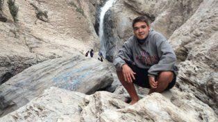 Viajero. Federico tiene 21 años y está de recorrida desde febrero. Llegó hasta las islas del Caribe.