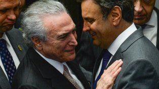 Callejón sin salida. El fiscal acusó al mandatario y al senador Aécio Neves de obstruir las investigaciones de corrupción en Petrobras.
