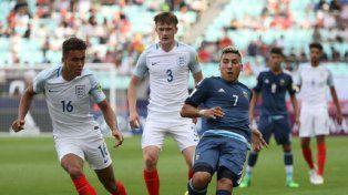 El Sub 20 de Argentina perdió por goleada ante Inglaterra en su debut en el Mundial